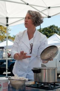 Monica Chef at Market Greenbelt 2009