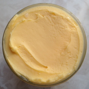 Beautiful YELLOW grass-fed butter!! Homemade!